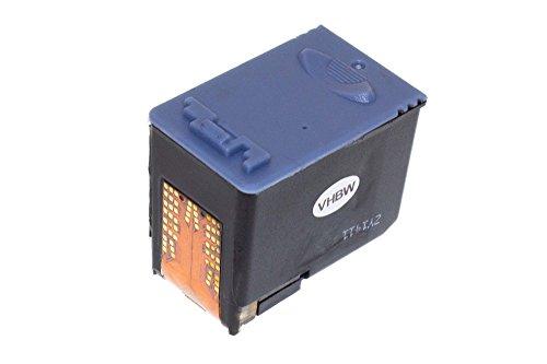 vhbw Druckerpatrone Tintenpatrone schwarz mit Chip für Samsung SF-370, SF-375, SF-375TP, SF370, SF375, SF375TP wie Samsung INK-M41, INK-M41V.
