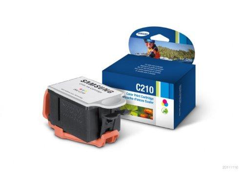 Samsung INK-C210/ELS Tintenpatrone Farbe, 250 Seiten Farbe
