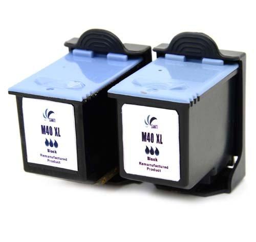 2 x Druckerpatronen ersetzen Samsung INK-M40 schwarz black INK-M40 für SAMUNG SF331 SF332 SF333 SF335 SF335T SF340 SF340T SF345 SF345TP SF360 SF361 SF365 SF365TP Fax