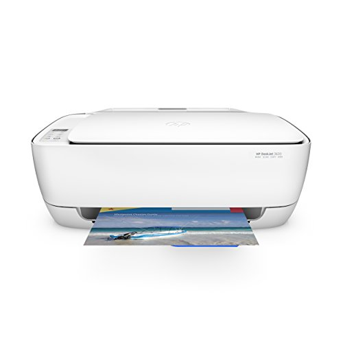 HP Deskjet 3630 (K4T99B) Multifunktionsdrucker (A4, WLAN Drucker, Scanner, Kopierer, Apple AirPrint, HP Instant Ink, USB 2.0, 4800 x 1200 dpi) weiß
