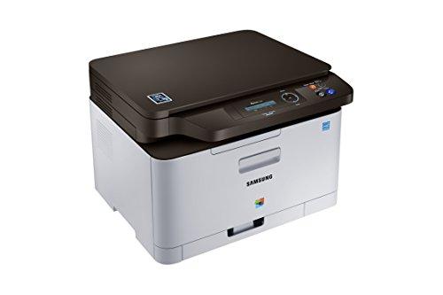 Samsung Xpress C480/TEG Farblaser-Multifunktionsgerät (Drucken, Scannen, Kopieren, 2.400 x 600 dpi, 128 MB Speicher, 800 MHz Prozessor) grau/schwarz