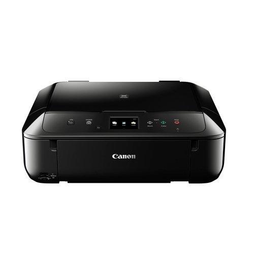 Canon Pixma MG6850 Farbtintenstrahl-Multifunktionsgerät (Drucken, Scannen, Kopieren, 5 separate Tinten, 7,5 cm Touchscreen, WLAN, Print App, Duplex, 4.800 x 1.200 dpi) schwarz
