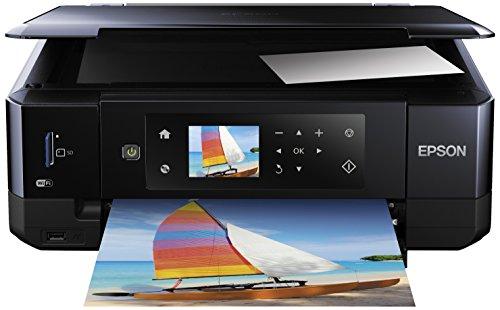 Epson Expression Premium XP-630 Tintenstrahl Multifunktionsdrucker (Drucken, Scannen, Kopieren, 5.760 x 1.440 dpi, Wi-Fi, USB, Duplex) schwarz