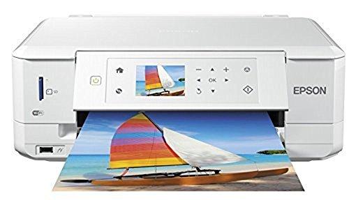 Epson Expression Premium XP-635 Tintenstrahl Multifunktionsdrucker (Drucken, Scannen, Kopieren, 5.760 x 1.440 dpi, Wi-Fi, USB, Duplex) weiß