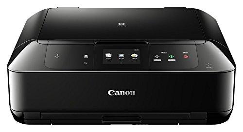 Canon Pixma MG7750 Farbtintenstrahl-Multifunktionsgerät (Drucken, Scannen, Kopieren, 22,4 cm (8,8 Zoll) Touchscreen, NFC, WLAN, Print App, Duplex, 2 Papierkassetten, 9.600 x 2.400 dpi) schwarz