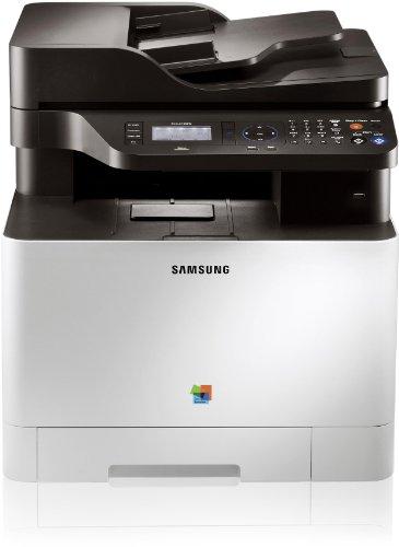 Samsung CLX-4195FN/TEG Farblaser-Multifunktionsgerät (Drucken, Scannen, Kopieren, Faxen, 9.600 x 600 dpi, 256 MB Speicher, 533 MHz Prozessor)