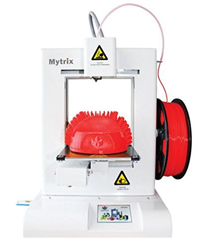 "Mytrix Dreamweaver M11S High Speed 450 mm/s 3D Printer with Full Color Touch Panel, 5.9"" x 5.9"" x 5.1"" Build Area, White ...(US Version, importiert)"
