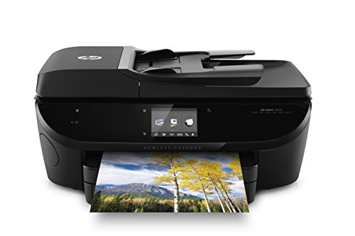 HP Envy 7640 e-All-in-One Drucker (Drucken, Faxen, Scannen, Kopieren, 2 Hi-Speed USB 2.0) schwarz