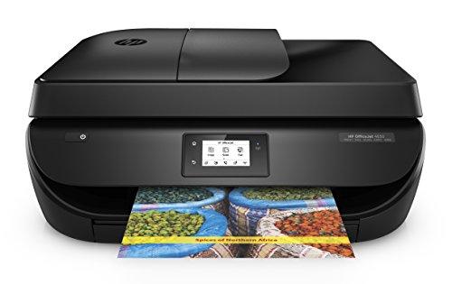 HP OfficeJet 4650 (F1H96B) Multifunktionsdrucker (Drucker, Scanner, Kopierer, Faxen, 4.800 x 1.200 dpi, USB, Duplex, WiFi) schwarz