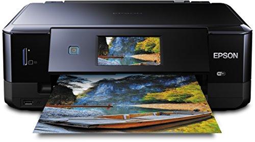 Epson Expression Photo XP-760 Tintenstrahl-Multifunktionsgerät (Drucken, Scannen und Kopieren) schwarz