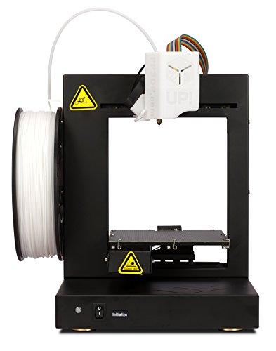 PP3DP UP! Plus2 qualitativ hochwertiger 3D-Drucker mit Starterset inkl. Software schwarz