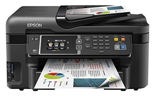 Epson WorkForce WF-3620DWF 4-in-1 Multifunktionsdrucker (Drucken, scannen, kopieren, faxen, Duplex, WiFi, Dokumenteneinzug) schwarz