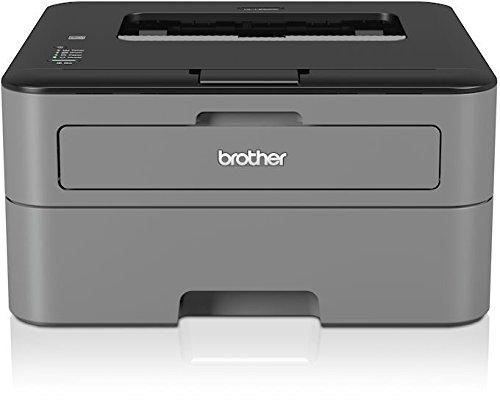 Brother HL-L2300D Monochrome Laserdrucker (2400 x 600 dpi, USB 2.0) schwarz