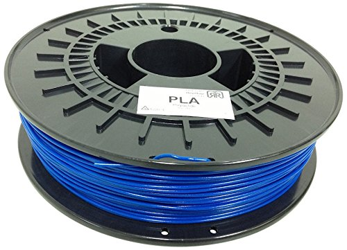 German RepRap PLA Filament, 750 g, 1.75 mm, blau