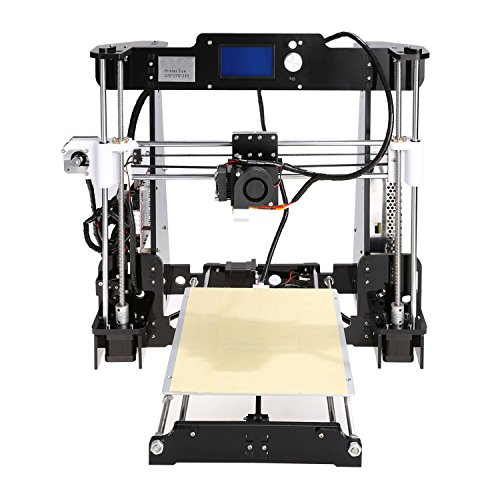 Hikenn 3D Drucker 3D Printer Extruder 2016 neueste Modelle A8 (i3 plus) 220x270x230mm