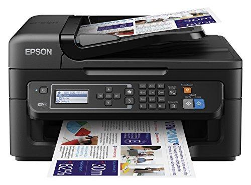 Epson WorkForce WF-2650DWF 4-in-1 Multifunktionsdrucker (Drucken, scannen, kopieren, faxen, Duplex, WiFi, Dokumenteneinzug) schwarz