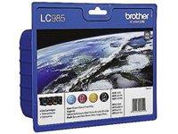 Brother LC-985 Multipack Tintenpatron schwarz/gelb/blau/rot