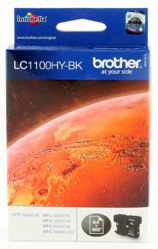 Brother Tintenpatrone LC1100HYBK schwarz HC MFC6490CW, DCP6690CW