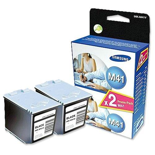 Samsung Tintenpatrone Original Samsung INK-M41V/ELS Doppelpack schwarz