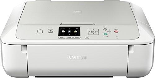 Canon Pixma MG5751 Farbtintenstrahl-Multifunktionsgerät (Drucken, Scannen, Kopieren, 5 separate Tinten, WLAN, Print App, Duplex, 4.800 x 1.200 dpi) weiß
