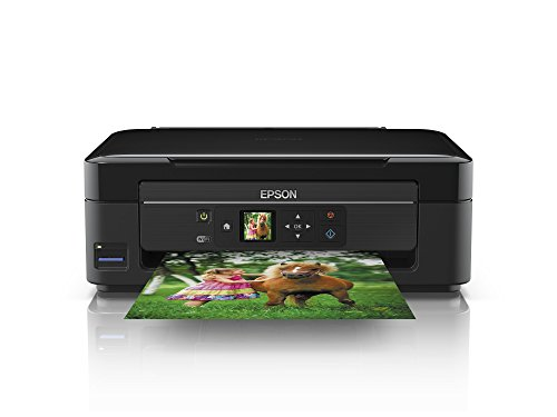 Epson Expression Home XP-322 Tintenstrahl-Multifunktionsgerät (Drucken, scannen, kopieren, Wi-Fi) schwarz