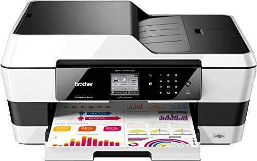 Brother MFC-J6520DW Multifunktionsgerät (Scanner, Kopierer, Drucker, Fax, 6000 x 1200 dpi, USB 2.0) schwarz/weiss