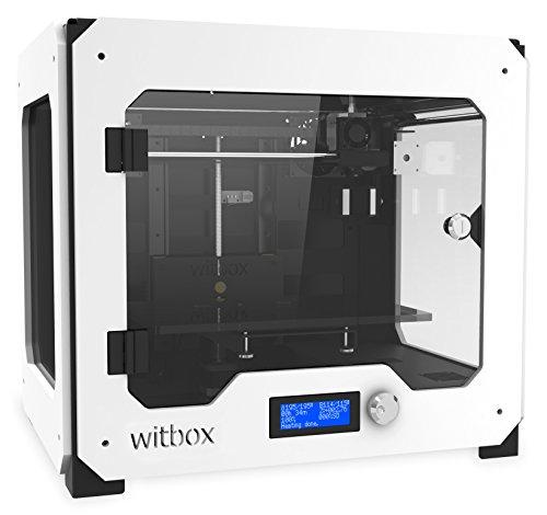 BQ 04BQWIT01 WitBox 3D Drucker, Single Extruder, Weiß