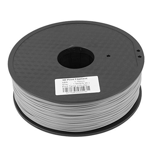 Grau 1,75mm ABS 1kg/2,2lb 3D Drucker Filament für RepRap Weistek Mendel de