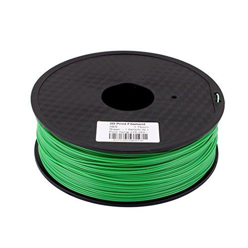 Grün 1,75mm ABS 1kg/2,2lb 3D Drucker Filament für RepRap Weistek Makerbot de